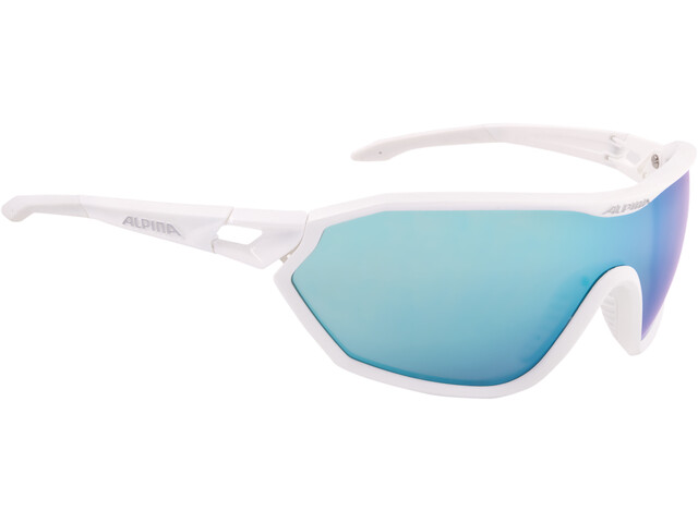 Alpina S-Way CM+ Glasses white matt